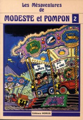 Modeste et Pompon (Mittéï/Godard) -2- Les mesaventures de Modeste et Pompon 2