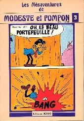 Modeste et Pompon (Mittéï/Godard) -3- Les mesaventures de Modeste et Pompon 3