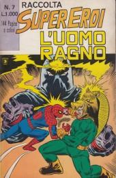 L'uomo Ragno (Editoriale Corno) V1 -Rec07- Raccolta Super Eroi Uomo Ragno