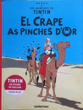 Tintin (en langues régionales) -9Picard- El crape as pinches d'or