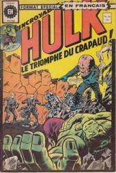 L'incroyable Hulk (Éditions Héritage) -50- Le triomphe du Crapaud