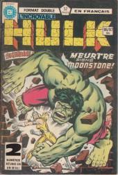 L'incroyable Hulk (Éditions Héritage) -8687- Meurtre signé Moonstone !