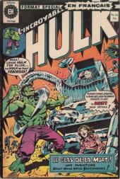 L'incroyable Hulk (Éditions Héritage) -44- Le glas de la mort !