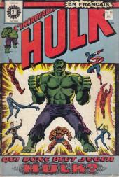 L'incroyable Hulk (Éditions Héritage) -12- Qui donc peut juger Hulk ?