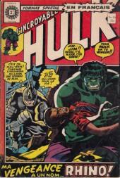 L'incroyable Hulk (Éditions Héritage) -16- Ma vengeance a un nom... Rhino !