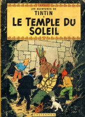 Tintin (Historique) -14B33- Le temple du soleil