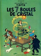 Tintin (Historique) -13C6- Les 7 boules de cristal