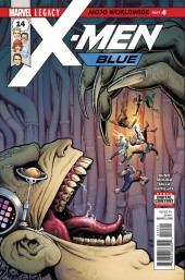 X-Men: Blue (2017) -14- Mojo Worldwide: Part 4