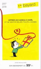 (Catalogues) Éditeurs, agences, festivals, fabricants de para-BD... - Bayard Jeunesse - 2017-2018 - Catalogue