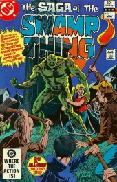Swamp Thing Vol.2 (DC comics - 1982) -1- What Peace There May Be in Silence