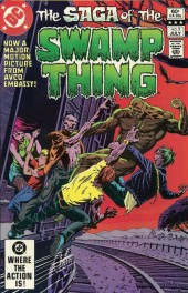 Swamp Thing Vol.2 (DC comics - 1982) -3- A Town Has Turned To Blood