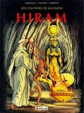 Les colonnes de Salomon -1- Hiram