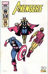 Avengers (Marvel France - 2017) -5VC01- Extinction des feux