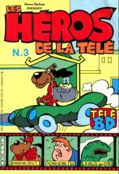 Les héros de la télé -3- La vallée des dinosaures - le monstre fou