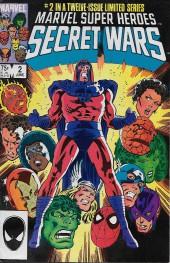 Marvel Super Heroes Secret Wars (Marvel comics - 1984) -2- Prisoners of War!