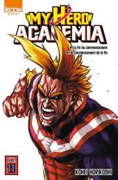 My Hero Academia -11- La fin du commencement et le commencement de la fin