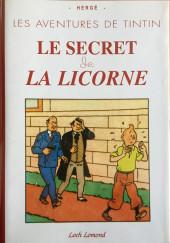 Tintin - Pastiches, parodies & pirates - Le secret de la Licorne