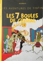 Tintin - Pastiches, parodies & pirates - Les 7 boules de cristal