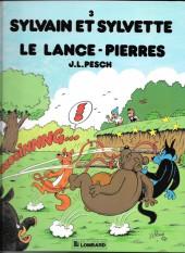 Sylvain et Sylvette -3b1992- Le lance-pierres