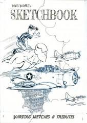 (AUT) Bodart - Sketchbook - Various sketches et tributes