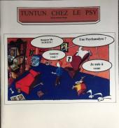 Tintin - Pastiches, parodies & pirates - Tuntun chez le psy