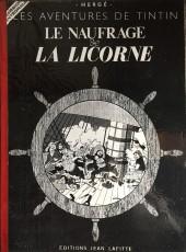 Tintin - Pastiches, parodies & pirates - Le naufrage de la Licorne