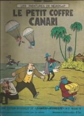 Samedi Jeunesse -37- Le petit coffre canari (néron et cie)