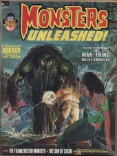 Monsters Unleashed (Marvel comics - 1973) -3- The Man-Thing walks among us
