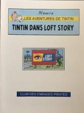 Tintin - Pastiches, parodies & pirates - Tintin dans Loft Story
