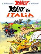 Astérix (en espagnol) -37- Astérix en italia