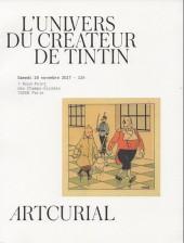 (Catalogues) Ventes aux enchères - Artcurial - Artcurial - L'univers du créateur de Tintin - samedi 18 novembre 2017