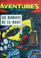 Aventures de demain !.. -21- Les Diamants de la mort