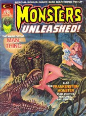 Monsters Unleashed (Marvel comics - 1973) -5- The mark of the Man-Thing