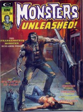 Monsters Unleashed (Marvel comics - 1973) -6- The Frankenstein monster runs amok-today