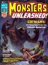 Monsters Unleashed (Marvel comics - 1973) -7- Ch'manu the thing that stalks the Swamp Sinister