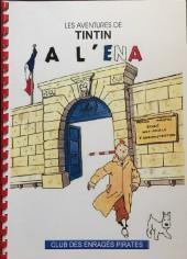 Tintin - Pastiches, parodies & pirates -a- Les aventures de Tintin à l'E.N.A