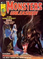Monsters Unleashed (Marvel comics - 1973) -10- Tigra the were-woman stalks again