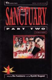 Sanctuary (1993) Part Two -1- Sanctuary Part Two - #1