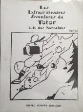 Tintin - Pastiches, parodies & pirates - Les Extraordinaires Aventures de Totor - C.P des hannetons