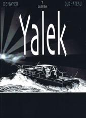 Yalek -1TL- Y comme Yalek