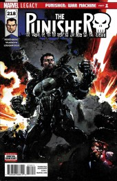 Punisher (2016) (The) -218- Punisher: War Machine Part 1
