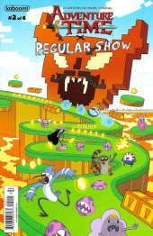 Adventure Time x Regular Show -2B- Adventure Time x Regular Show Part 2 Of 6