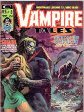 Couverture de Vampire Tales (Marvel comics - 1973) -3- Night of the demon cult