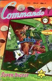 Commando (1re série - Artima) -11- Le gardien du porte-avions