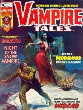 Couverture de Vampire Tales (Marvel comics - 1973) -4- Night of the snow vampire