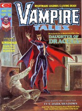 Couverture de Vampire Tales (Marvel comics - 1973) -6- The daughter of Dracula