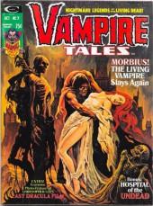 Vampire Tales (Marvel comics - 1973) -7- Morbius ! the living vampire slayx again