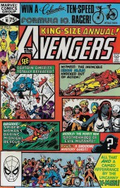 Avengers Vol. 1 (Marvel Comics - 1963) -AN10- By Friends...Betrayed!