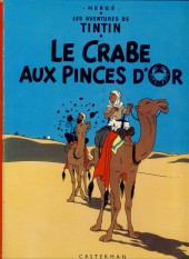 Tintin (Historique) -9B38bis- Le crabe aux pinces d'or