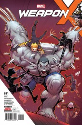 Weapon X (2017) -11- The Hunt for Weapon H: Conclusion